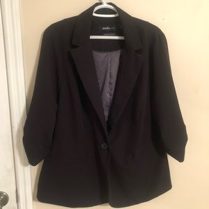Black Studio Blazer by Torrid Size 2